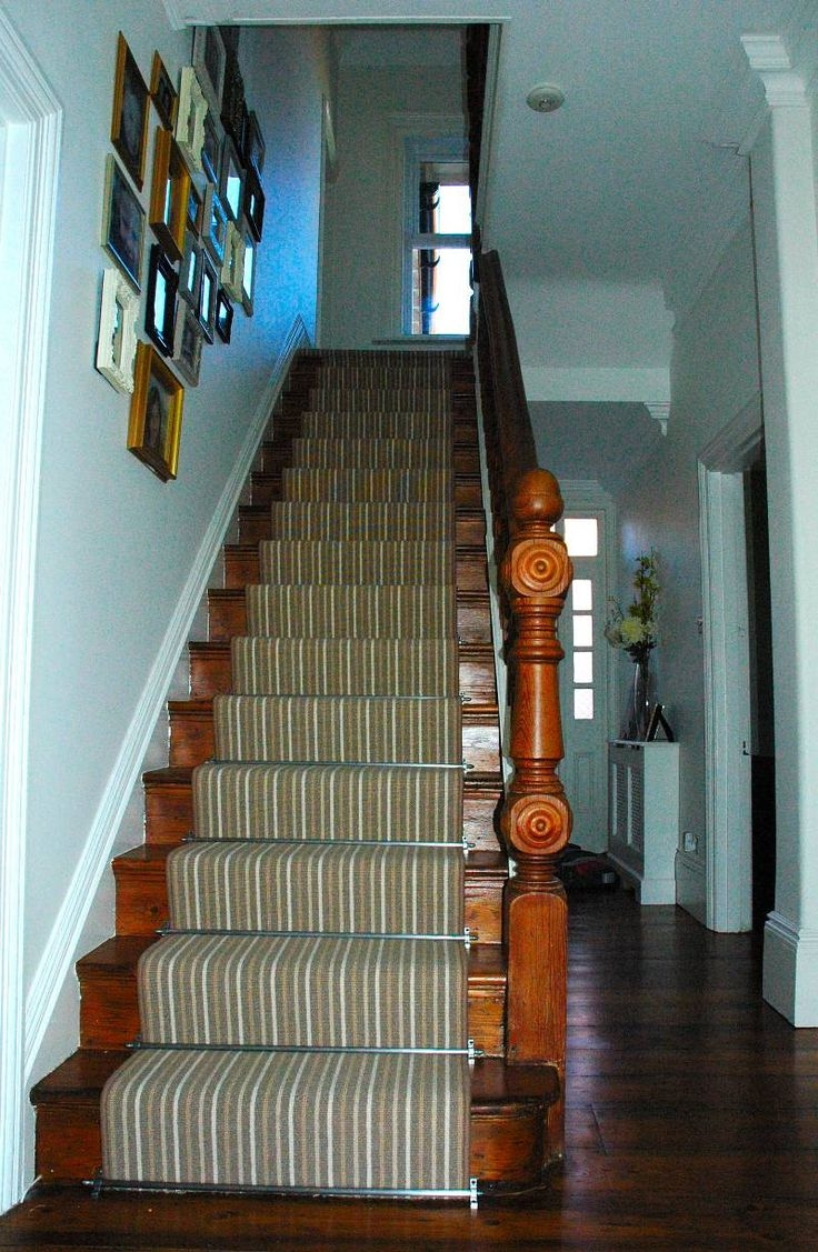 15 Best Stair Rods Inspo Images On Pinterest Pertaining To Stair Tread Carpet Rods (Image 1 of 15)