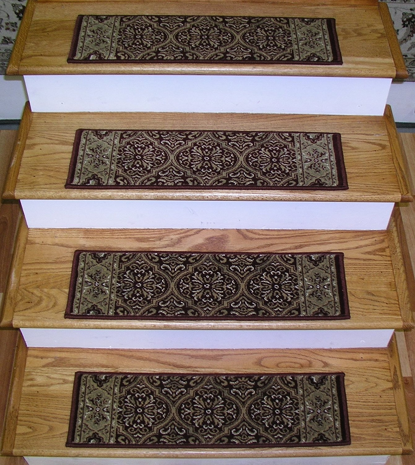 157575 Rug Depot Premium Carpet Stair Treads 26 X 8 Stair Throughout Premium Carpet Stair Treads (Image 1 of 15)