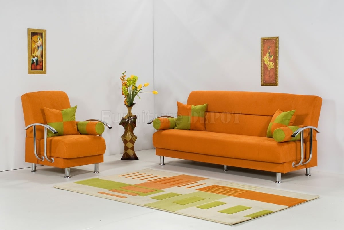 16 Modern Sofa Chair Carehouse Pertaining To Orange Sofa Chairs (Image 2 of 15)