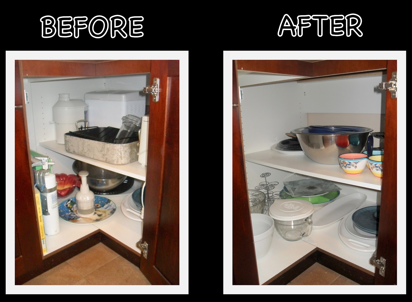 16 Small Pantry Organization Ideas Hgtv Small Kitchen Organizing Intended For Cupboard Organizers (Image 1 of 25)