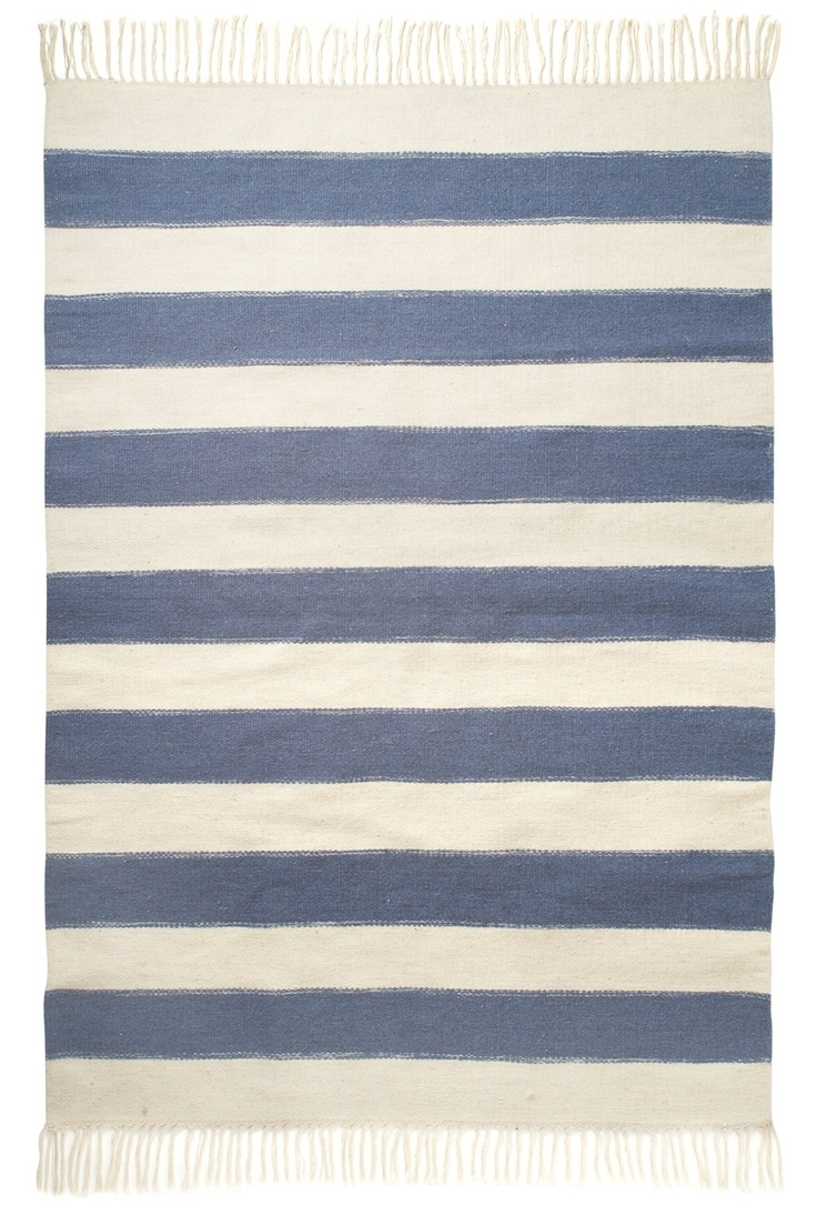 17 Best Images About Coastal Style Rugs N Mats On Pinterest Within Striped Mats (Image 1 of 15)
