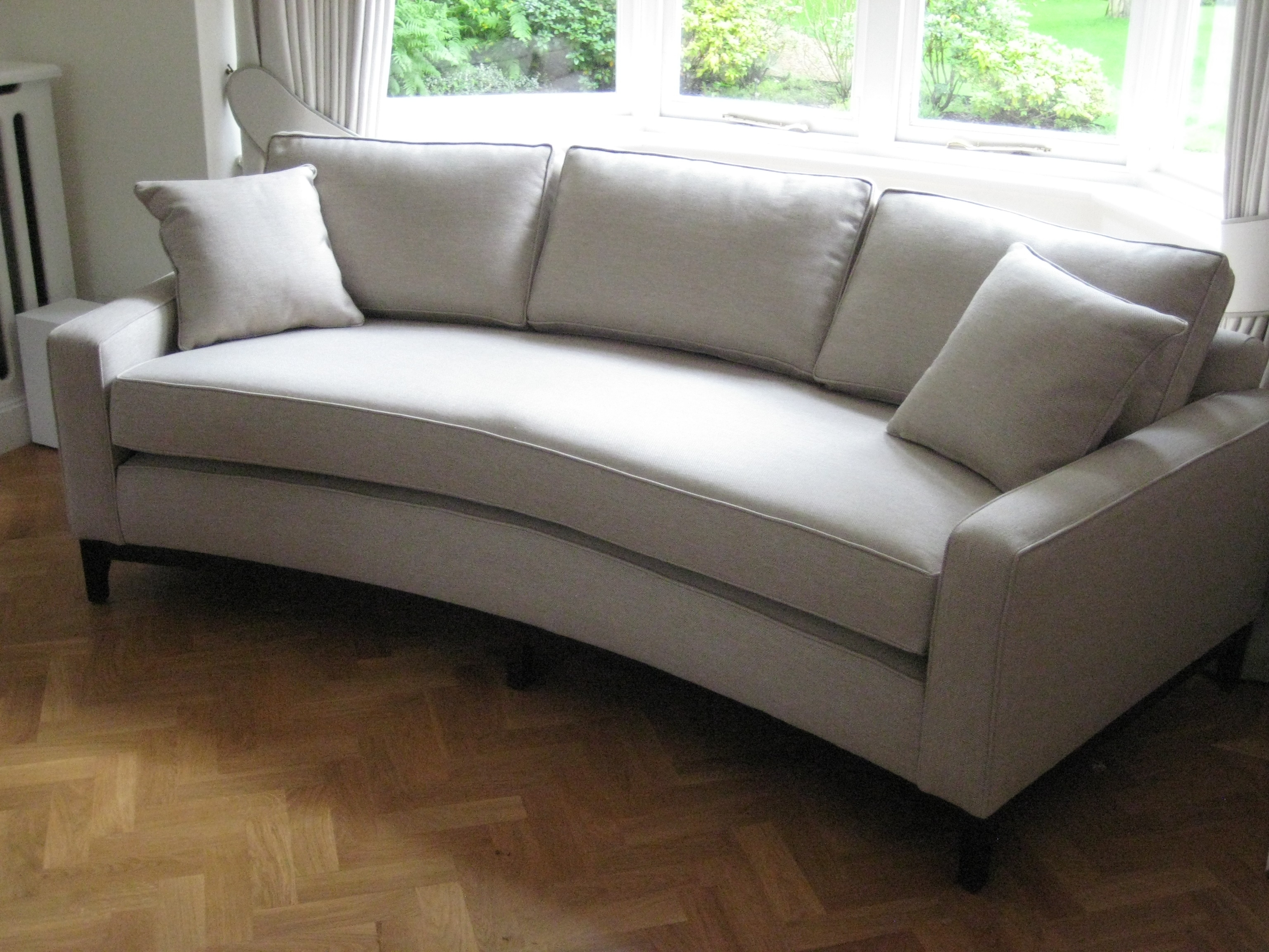 18 Best Curved Sofas British Bespoke Images On Pinterest Throughout Bespoke Corner Sofa Beds (Image 1 of 15)