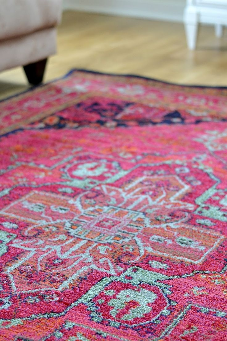 189 Best Images About Rugs On Pinterest Carpets Runners And Studios With Regard To Pink Pattern Rugs (Image 1 of 15)
