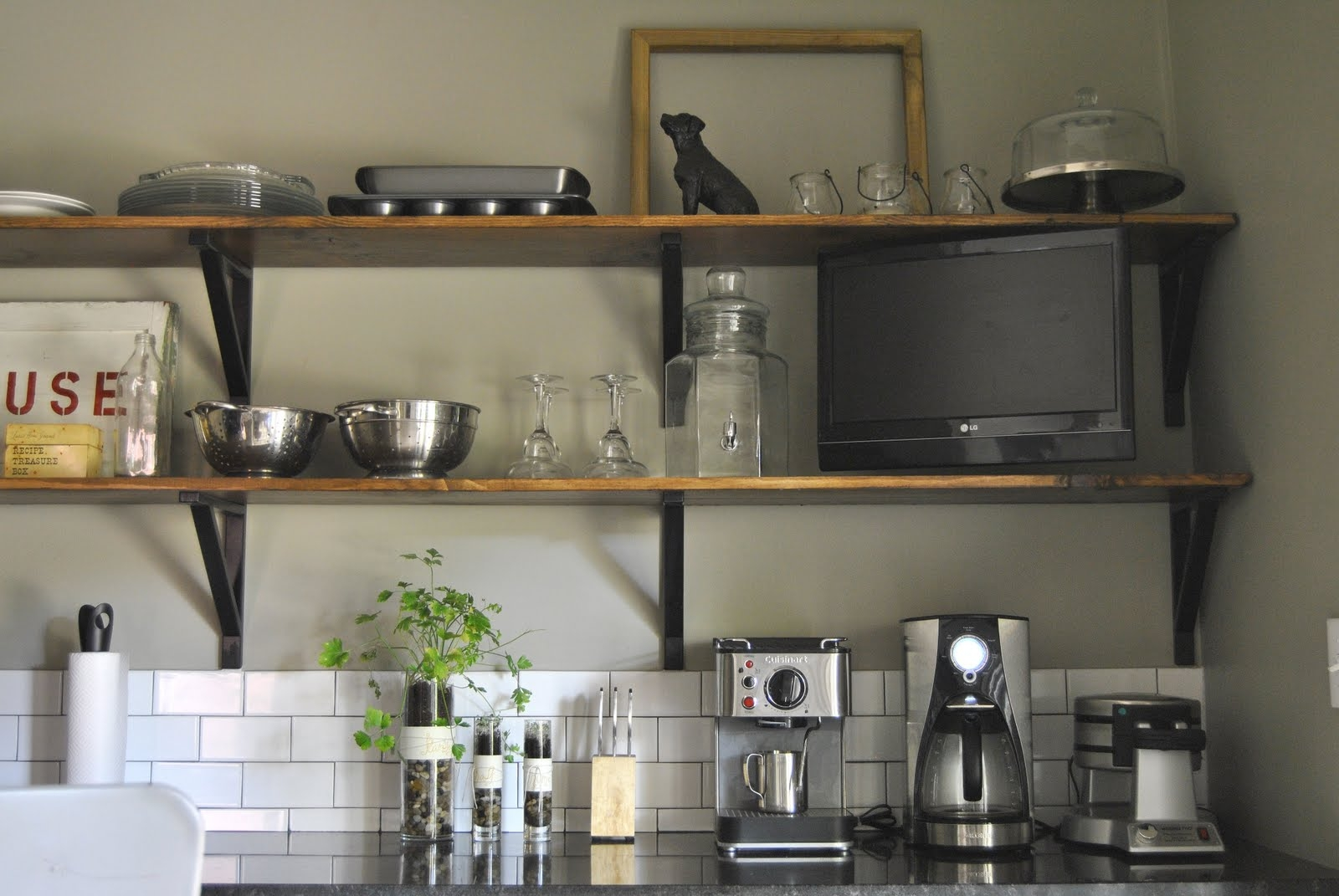 20 Diy Wall Shelves For Storage Kitchen 4703 Baytownkitchen Inside Kitchen Wall Shelves (Image 1 of 15)