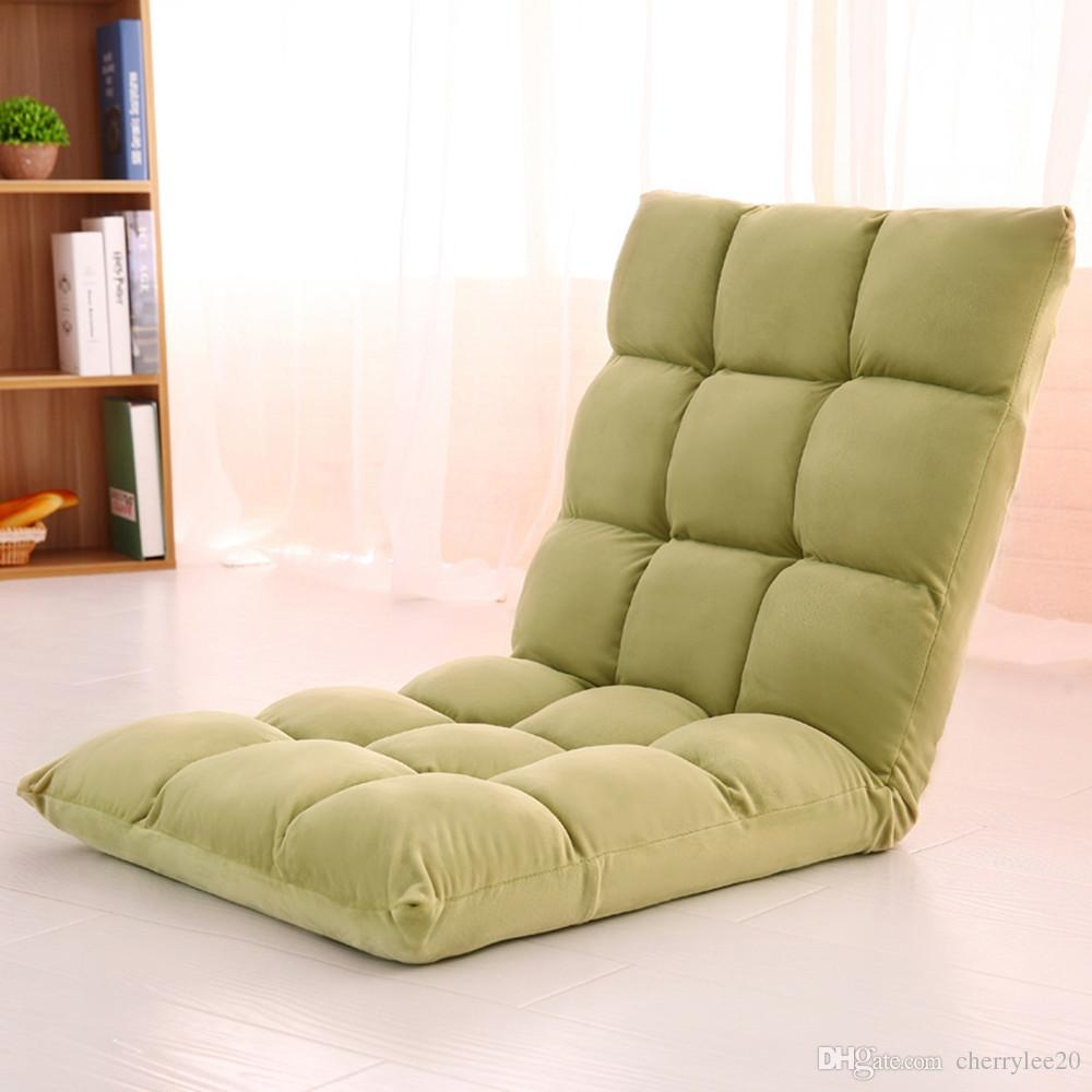 2017 Lazy Sofa Floor Cushion Sofa Chair Folding Beach Chair Gaming Throughout Lazy Sofa Chairs (Image 2 of 15)
