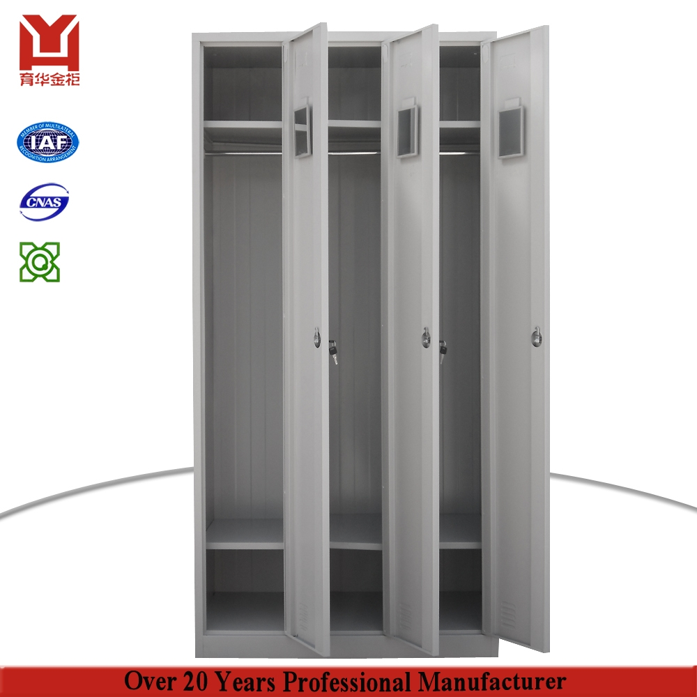 2017 New Design Low Price 3 Door Godrej Almirah Design Price Steel Regarding Metal Wardrobes (View 12 of 25)