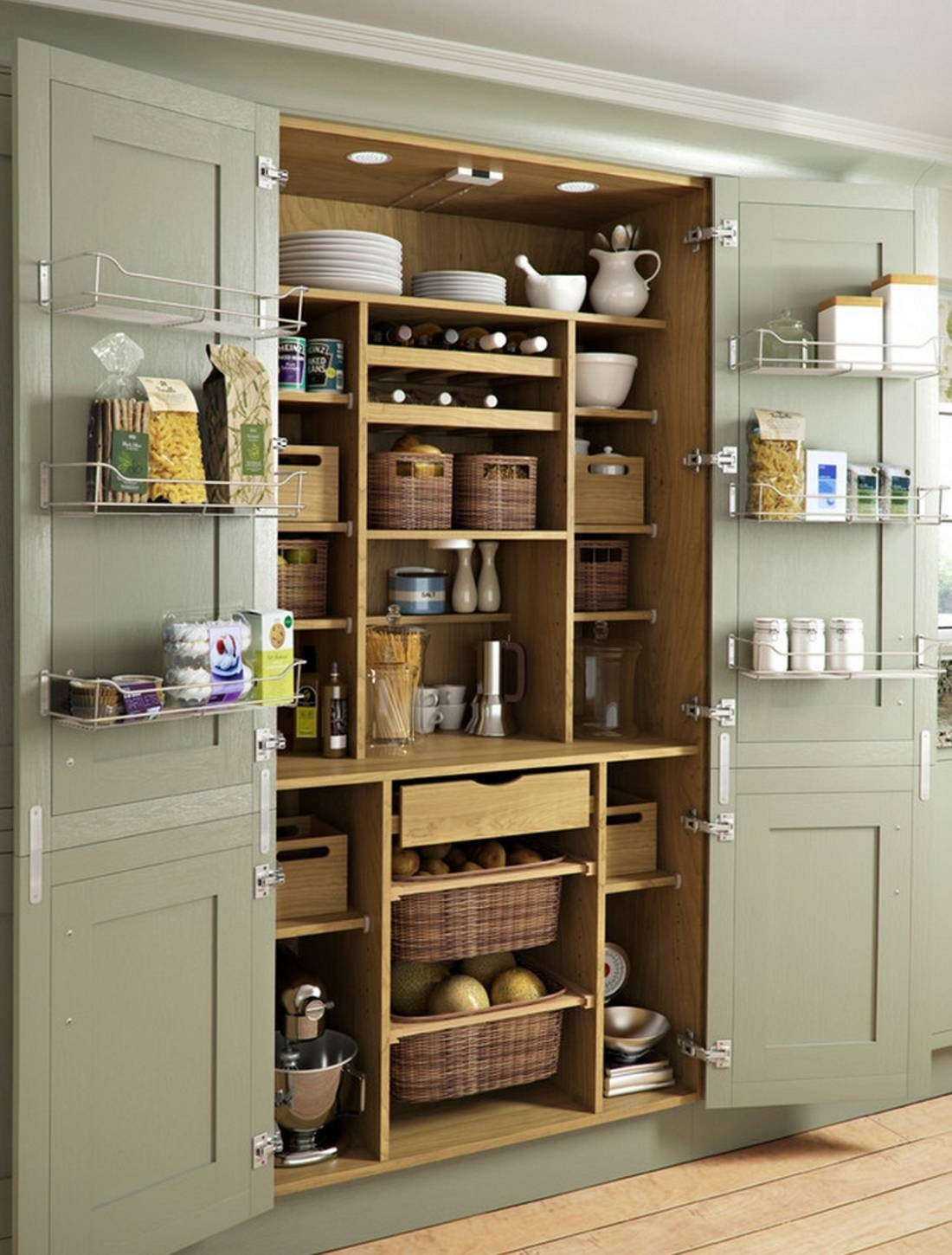 24 Beautiful And Functional Free Standing Kitchen Larder Units Within Free Standing Kitchen Larder Cupboards (View 8 of 25)
