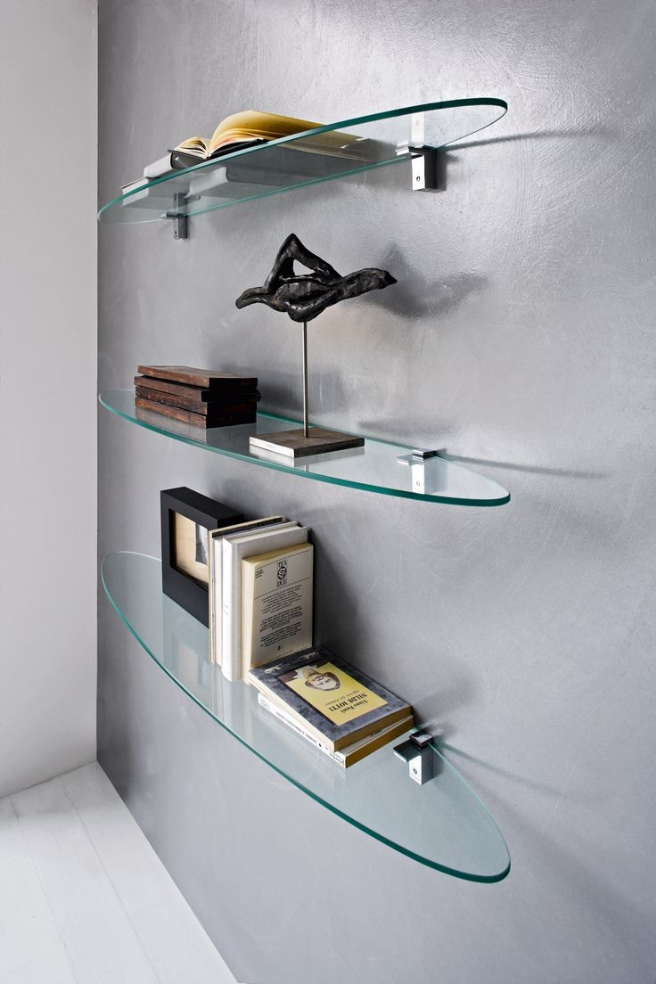 25 Best Glass Shelf Supports Ideas On Pinterest Throughout Glass Shelf Fittings (Image 1 of 15)