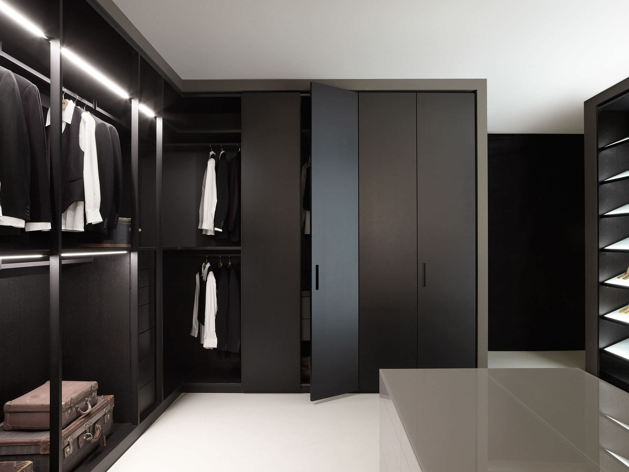 25 Best Modern Storage Closets Designs Closet Designs Modern Throughout Bedroom Wardrobe Storages (View 13 of 25)