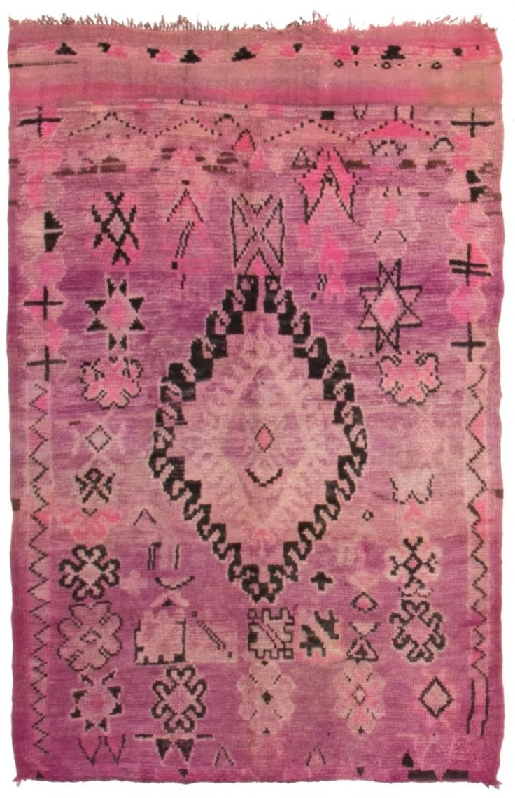 25 Best Moroccan Rugs Ideas On Pinterest Colorful Rugs Boho In Pink Pattern Rugs (Image 2 of 15)