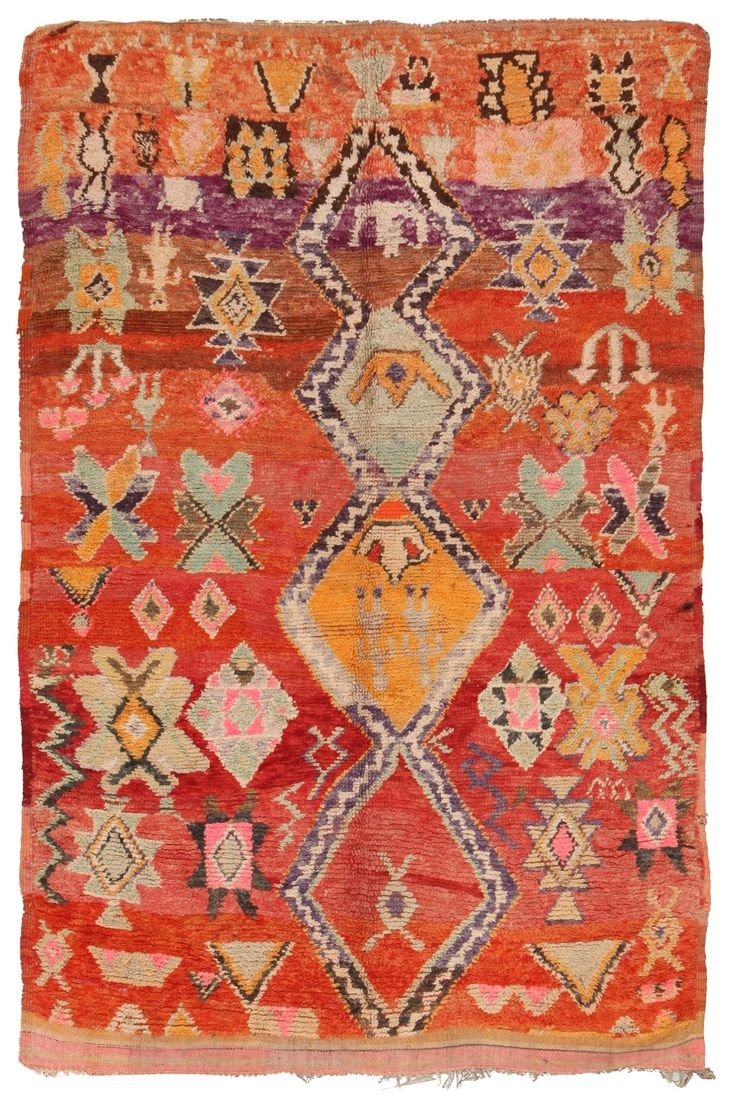 25 Best Moroccan Rugs Ideas On Pinterest Colorful Rugs Boho Regarding Moroccan Rugs (Image 2 of 15)