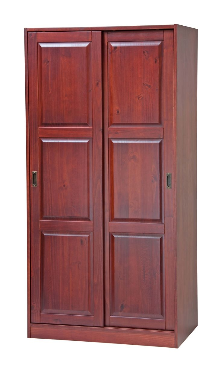 25 Best Solid Wood Wardrobes Ideas On Pinterest Modern Wardrobe In Solid Wood Wardrobe Closets (Image 3 of 25)
