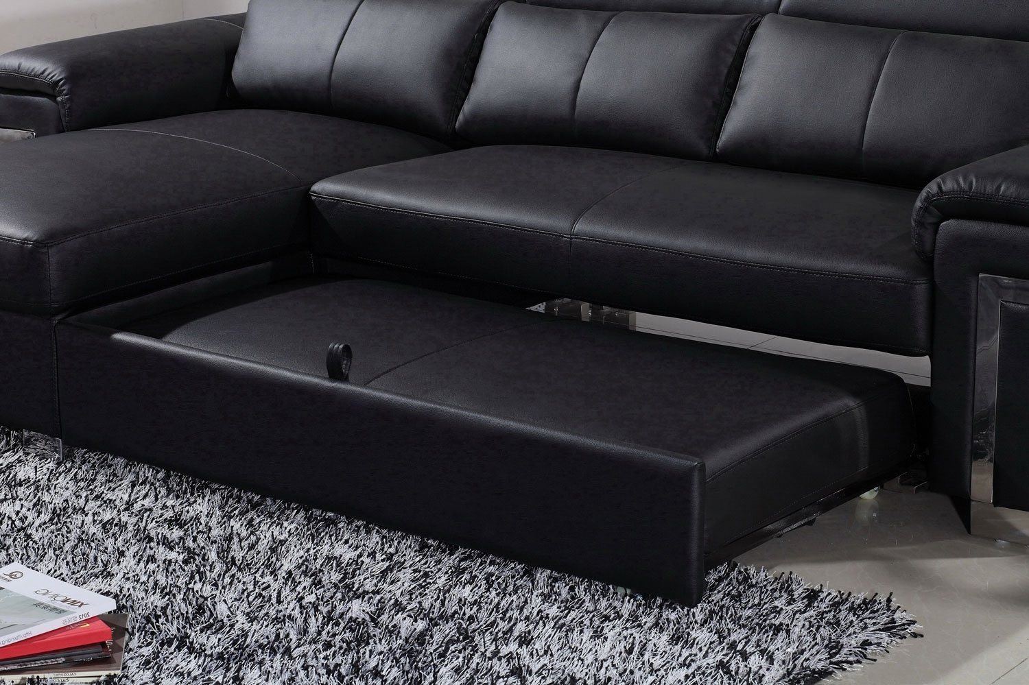 3 Seater Leather Sofa Bed Sofa Menzilperde Pertaining To 3 Seater Leather Sofas (Image 2 of 15)