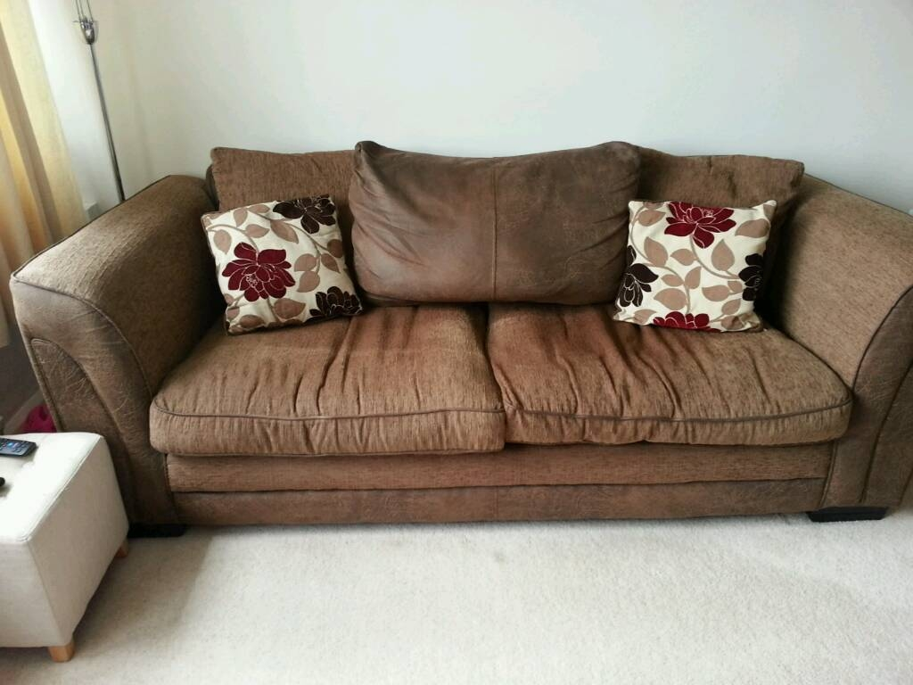 3 Seater Sofa Cuddle Chair In York North Yorkshire Gumtree Within 3 Seater Sofa And Cuddle Chairs (Image 5 of 15)