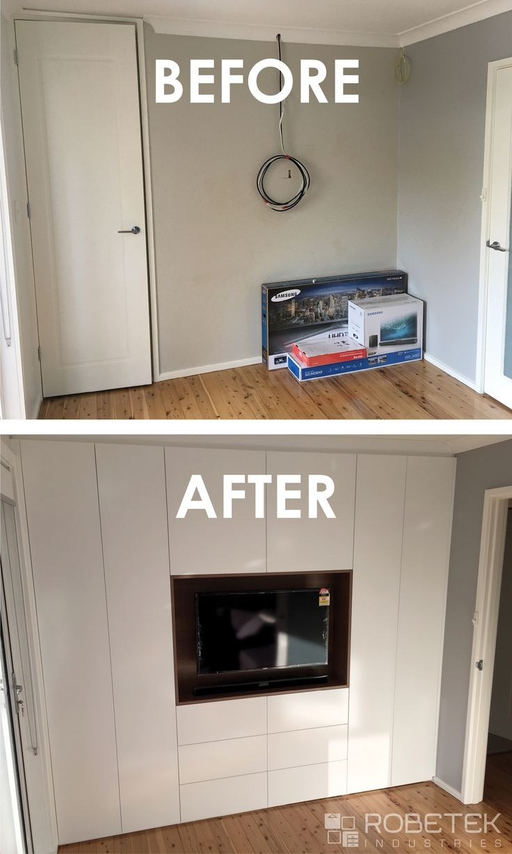 32 Best Built In Wardrobes Images On Pinterest Within Built In Wardrobes With Tv Space (Image 1 of 15)