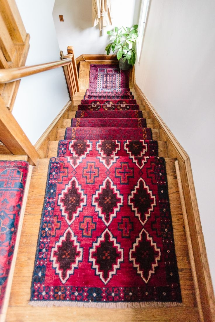 399 Best Stair Runners Images On Pinterest Throughout Custom Made Rug Runners (Image 2 of 15)