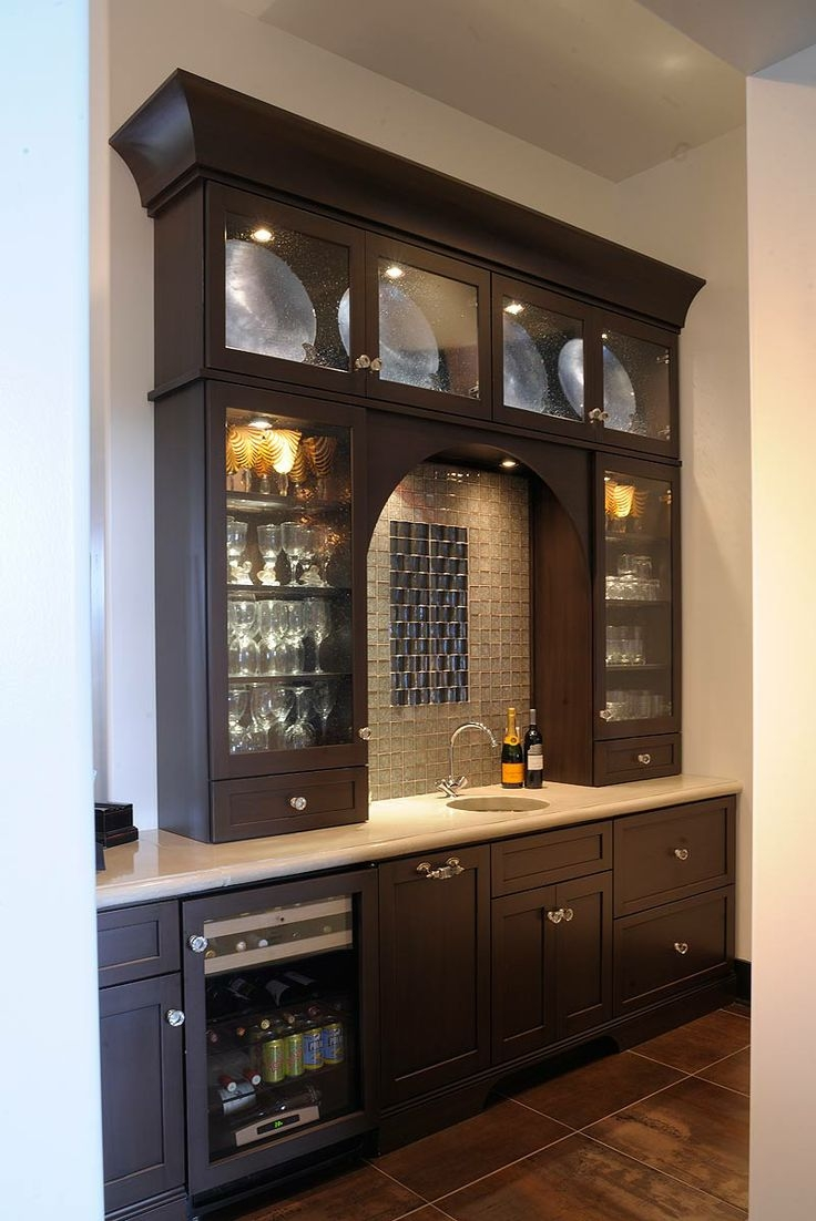 42 Best Images About Bar Areas And Wine Storage On Pinterest In Glass Shelves For Bar Area (Image 1 of 15)