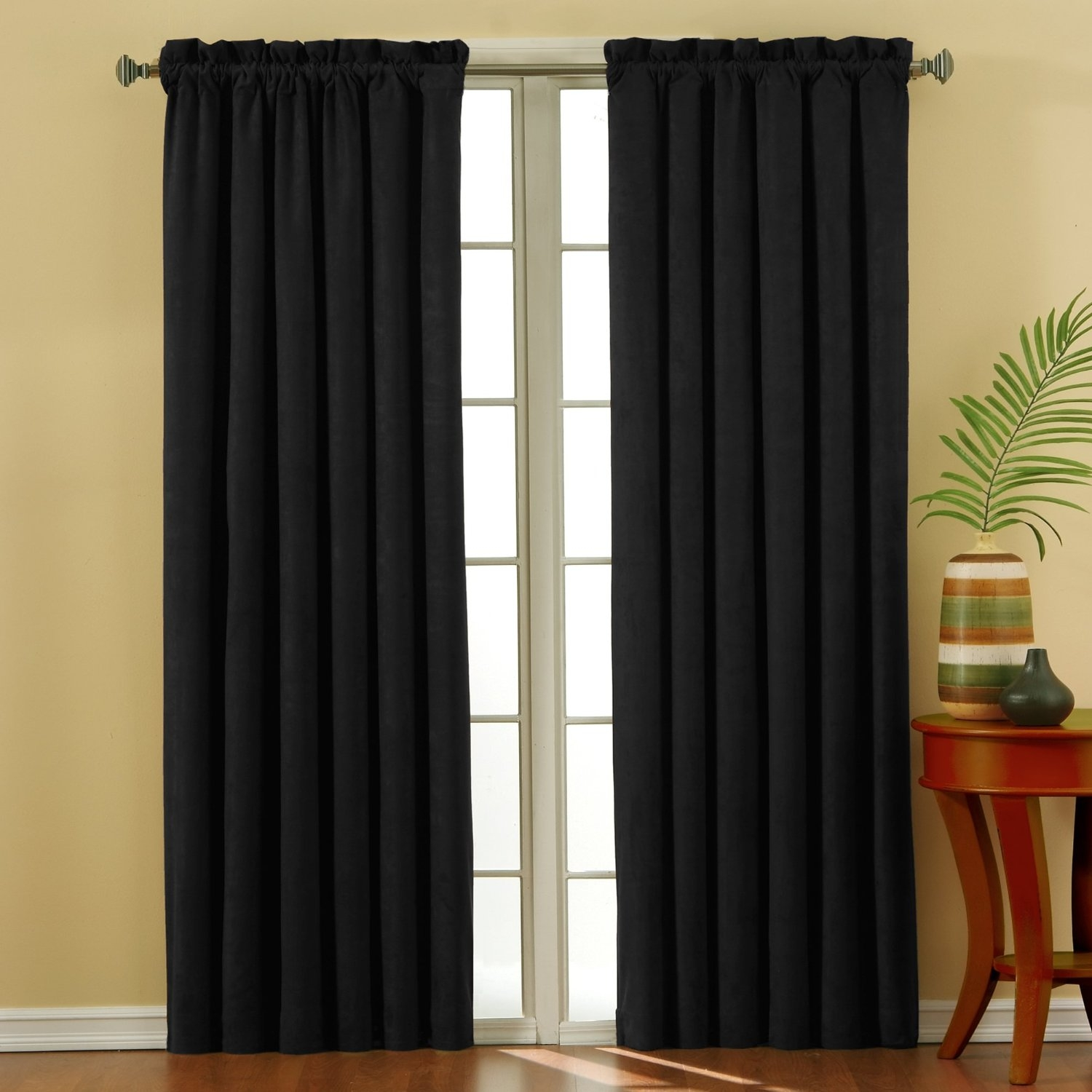 45 Inch Length Curtains Quick View Cafe Style Kitchen Curtains Throughout 63 Inches Long Curtains (Image 1 of 25)