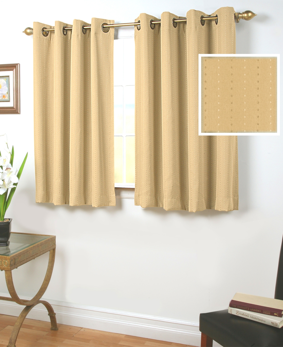 45 Inch Long Curtains Thecurtainshop For 54 Inch Long Curtain Panels (View 8 of 25)