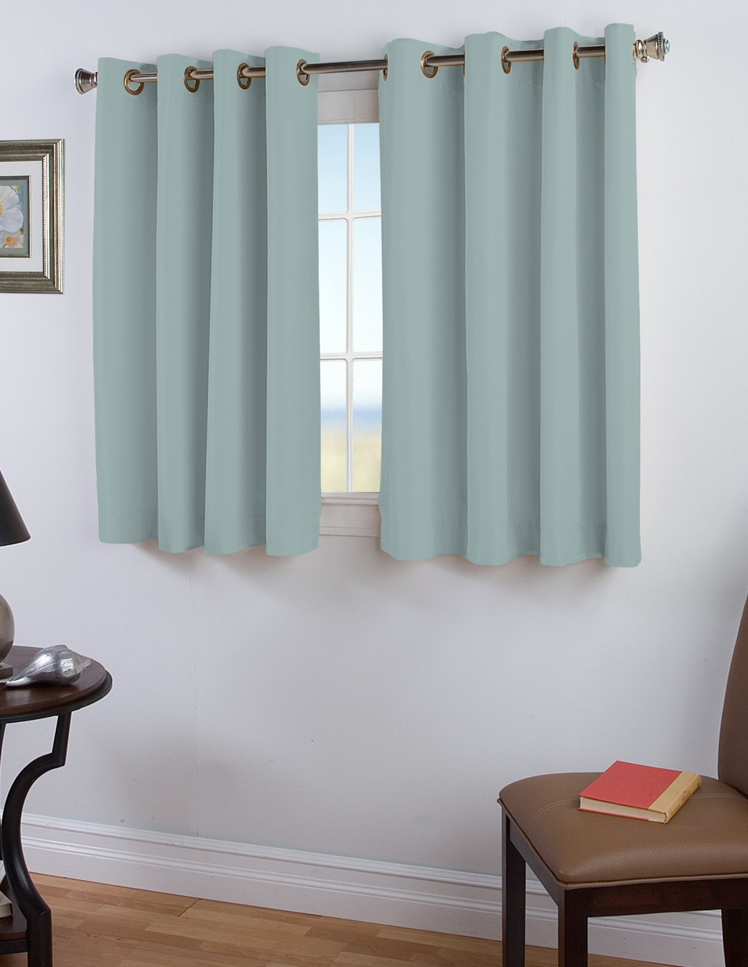 45 Inch Long Curtains Thecurtainshop For 54 Inch Long Curtain Panels (View 4 of 25)
