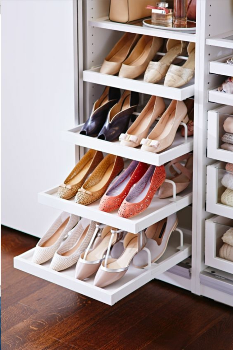 50 Best Shoe Storage Ideas For 2017 For Wardrobe Shoe Storages (Image 2 of 25)