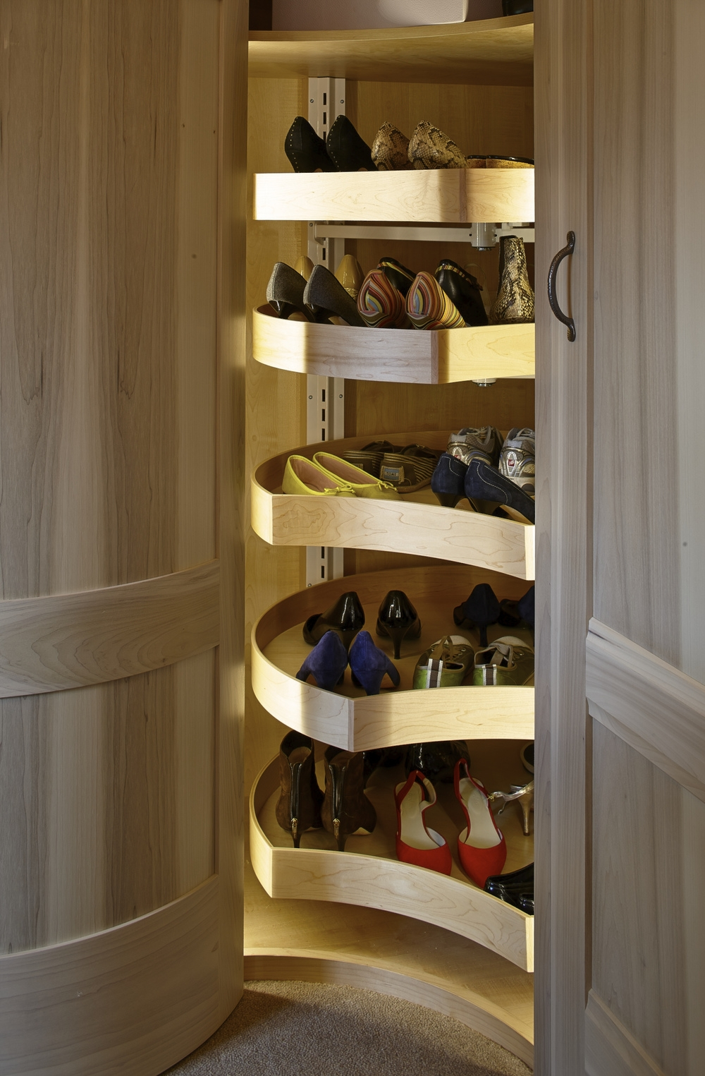 50 Best Shoe Storage Ideas For 2017 In Wardrobe Shoe Storages (Image 3 of 25)