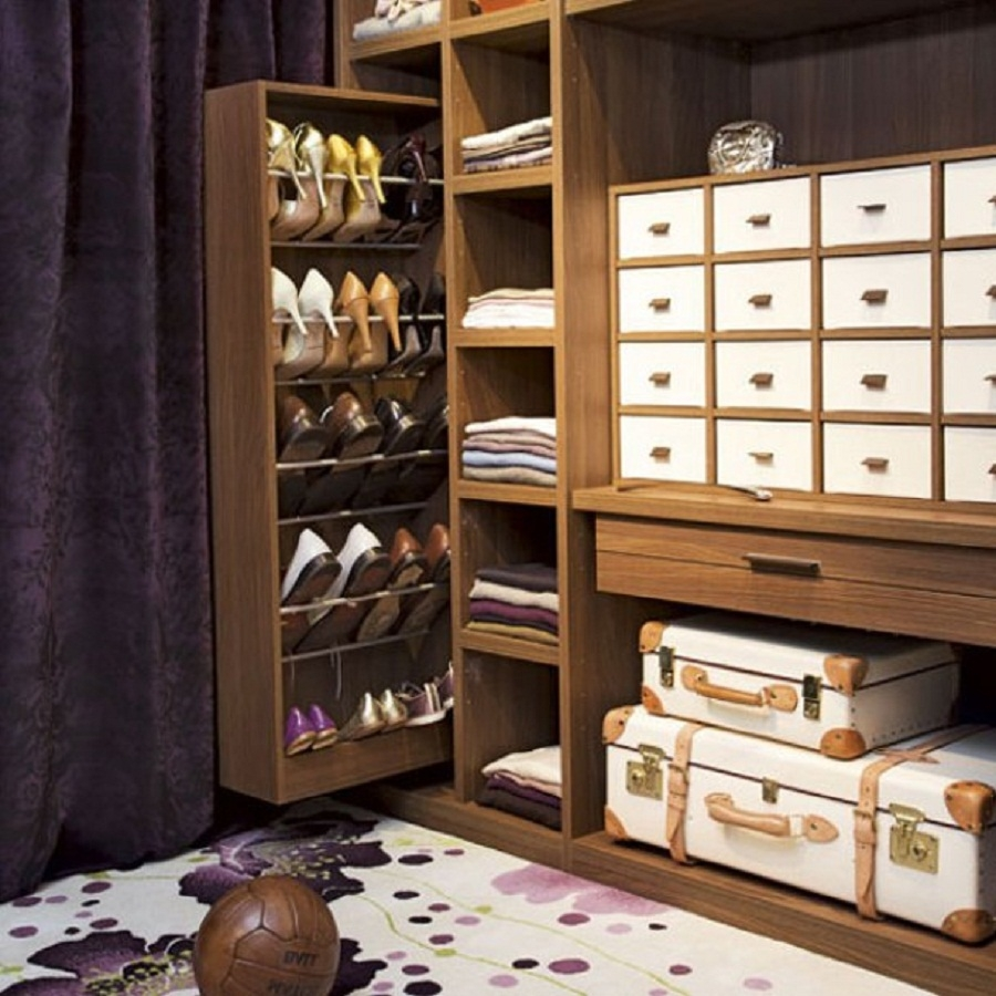 50 Best Shoe Storage Ideas For 2017 Intended For Wardrobe Shoe Storages (Image 4 of 25)