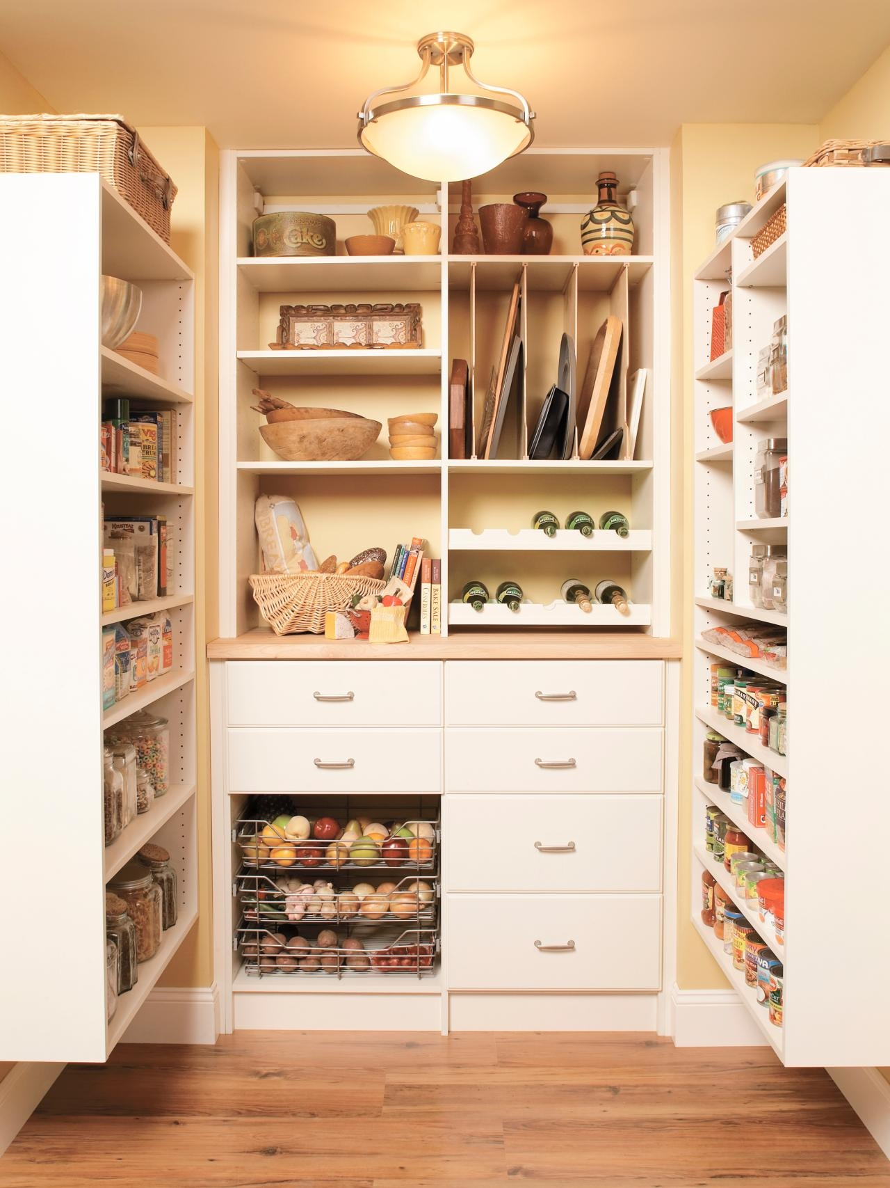 51 Pictures Of Kitchen Pantry Designs Ideas Regarding Large Cupboard With Shelves (Image 2 of 25)