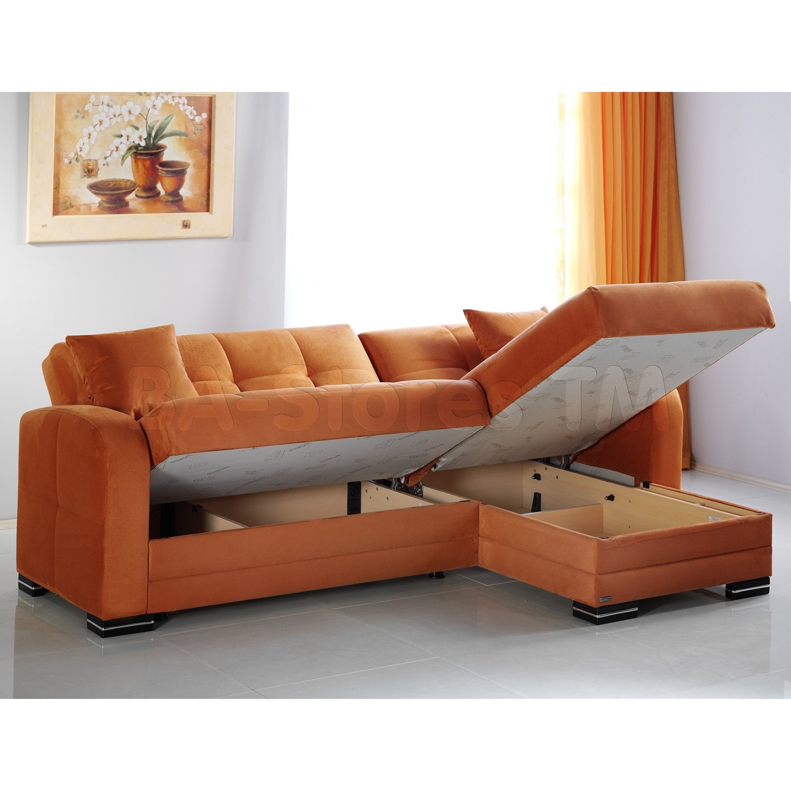 53 Orange Sofa Muji Orange Sofa Orange Pinterest Avworld In Contemporary Fabric Sofas (Image 1 of 15)