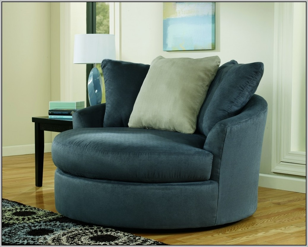 54 Round Sofa Chair Round Sofa Chairleisure Legless Chair Sofa In Round Sofa Chair (Image 1 of 15)