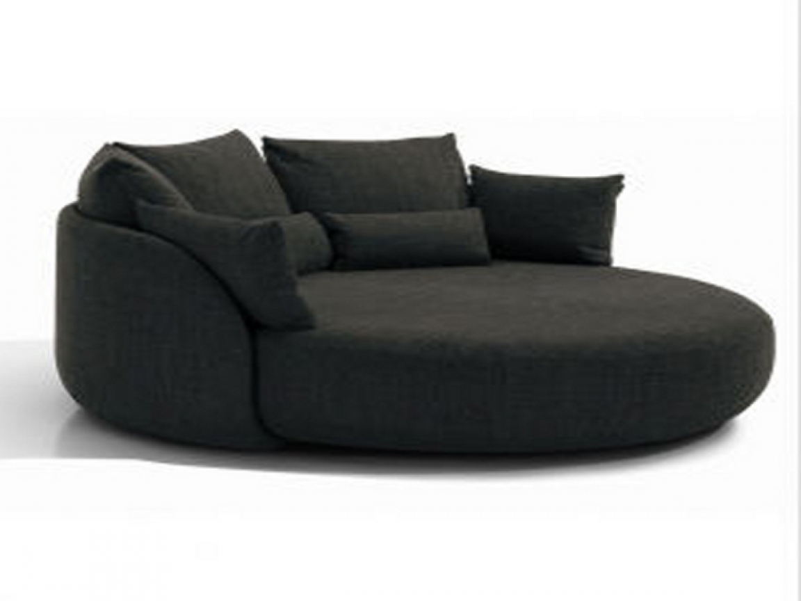 54 Round Sofa Chair Round Sofa Chairleisure Legless Chair Sofa With Regard To Round Sofa Chairs (Image 3 of 15)