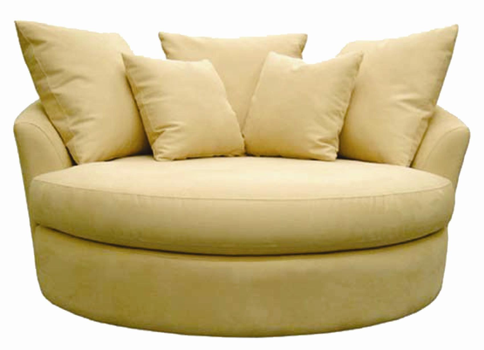 54 Round Sofa Chair Sofa Chair Ebayfind Great Deals On Ebay For Within Big  Round Sofa