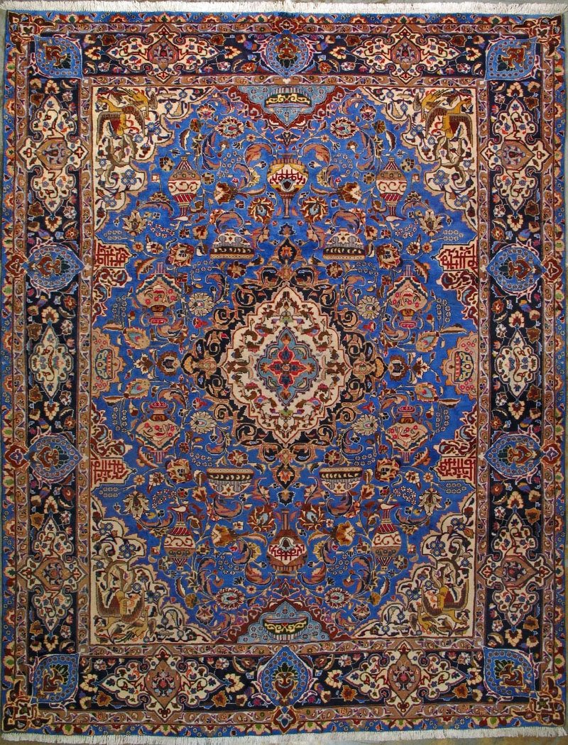 55 Persian Carpets Persian Carpets Medsmatter Intended For Blue Persian Rugs (Image 2 of 15)