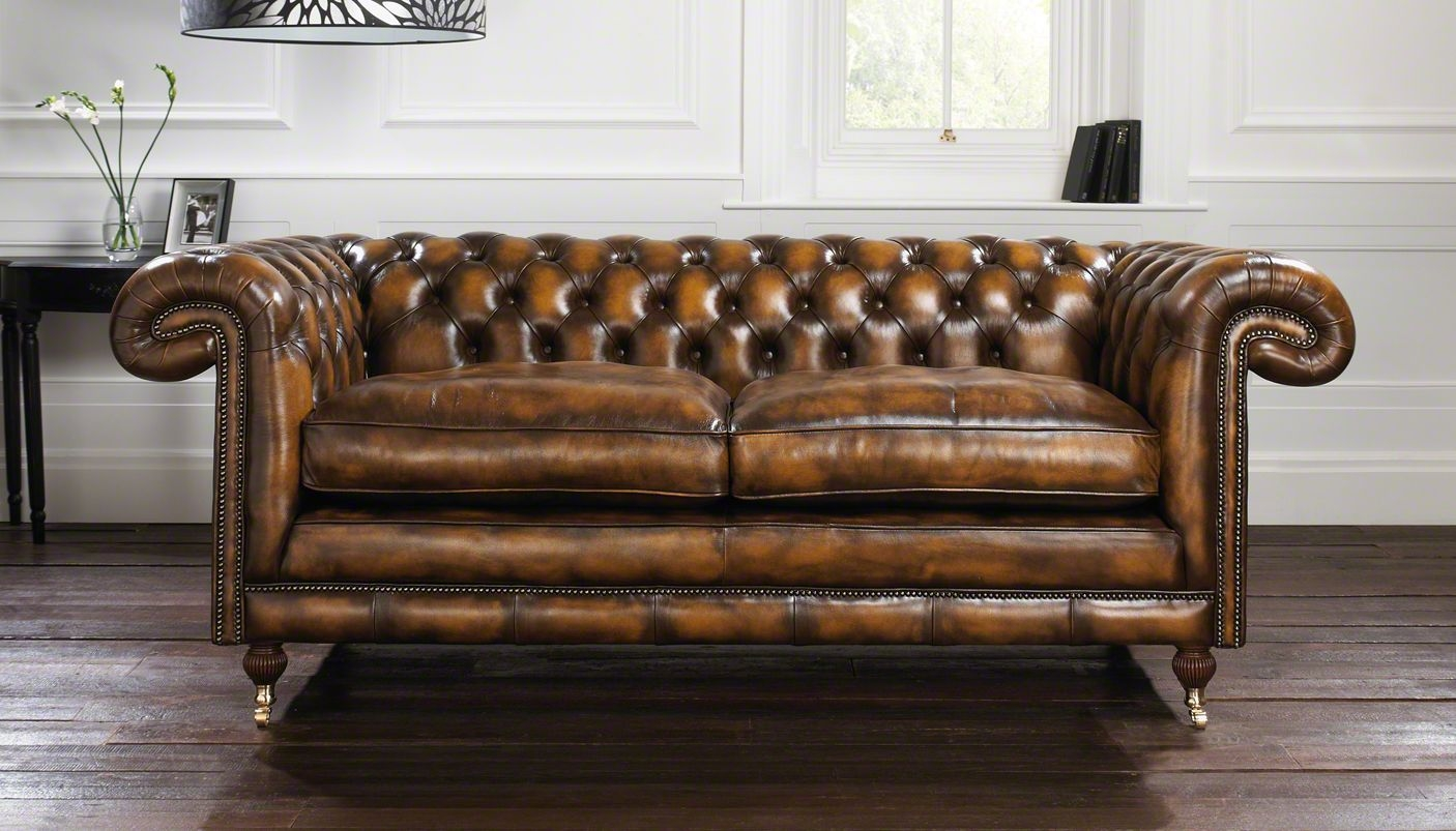 56 Chesterfield Sofas Chesterfield Sofas Sofas Beds Sofa Beds Regarding Leather Chesterfield Sofas (Image 5 of 15)