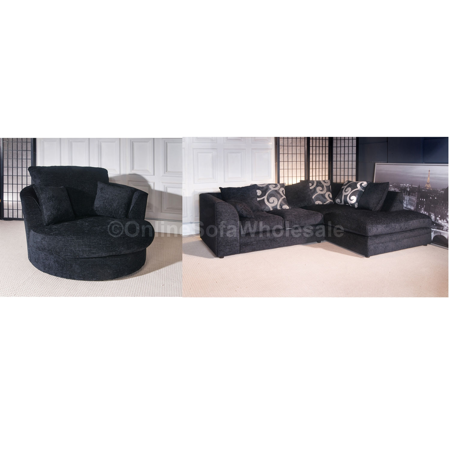 56 Swivel Sofa Chair Seater Sofa And Swivel Chair Dfs In Cardiff Within Corner Sofa And Swivel Chairs (Image 2 of 15)