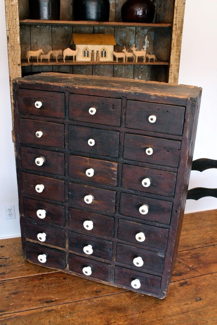 567 Best Old Cabinets Wdrawers Images On Pinterest Within Cupboard Drawers (Image 2 of 25)