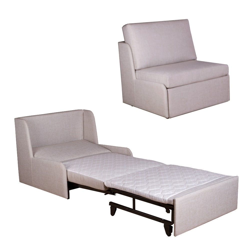 58 Single Seat Sofa Bed Chair Looks Like An Oversized Single In Single Sofa Chairs (Image 2 of 15)