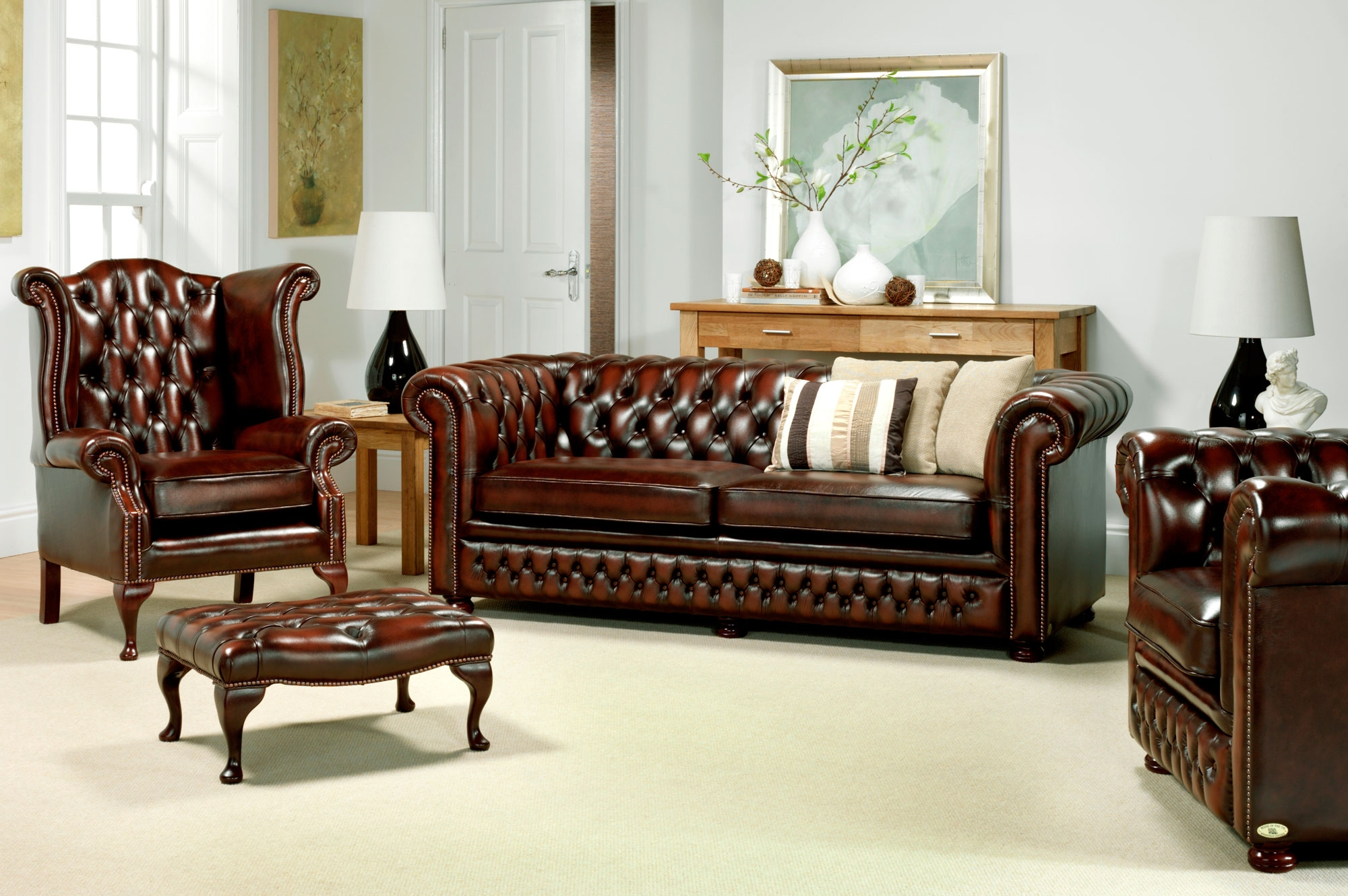 59 Sofas And Chairs Sofa Chair Chesterfield Sofa Chair Avworld For Chesterfield Sofa And Chair (Image 1 of 15)
