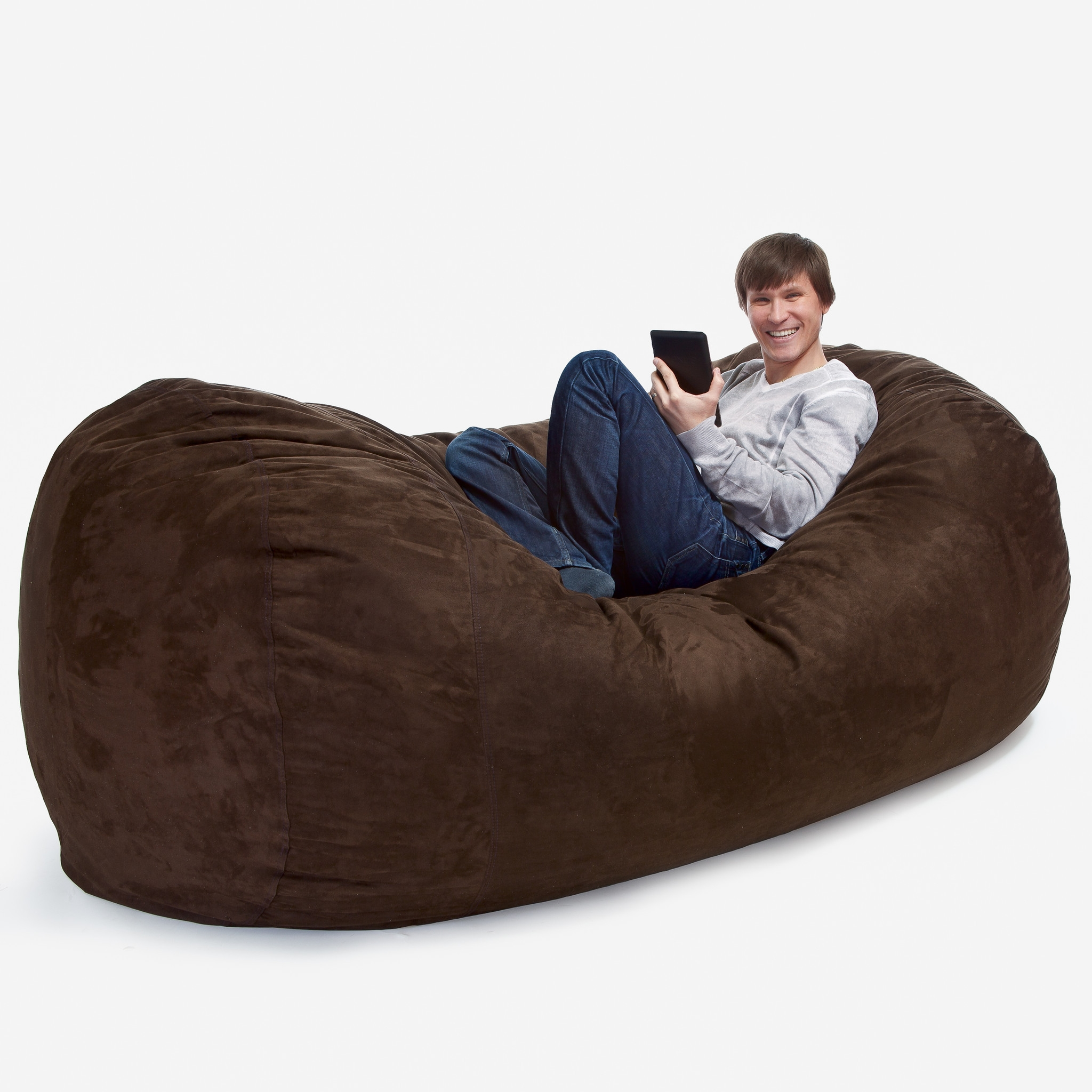 7 Classy Adult Bean Bags Room Bath Intended For Bean Bag Sofa Chairs (Image 1 of 15)