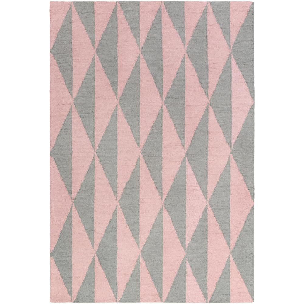 7 X 9 Pink Area Rugs Rugs The Home Depot In Pink Pattern Rugs (Image 3 of 15)