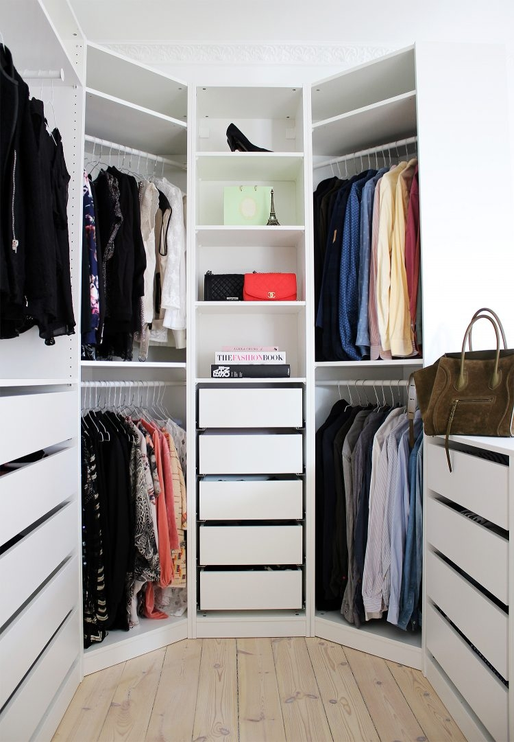 75 Cool Walk In Closet Design Ideas Shelterness Within Wardrobe For Baby Clothes (Image 1 of 25)