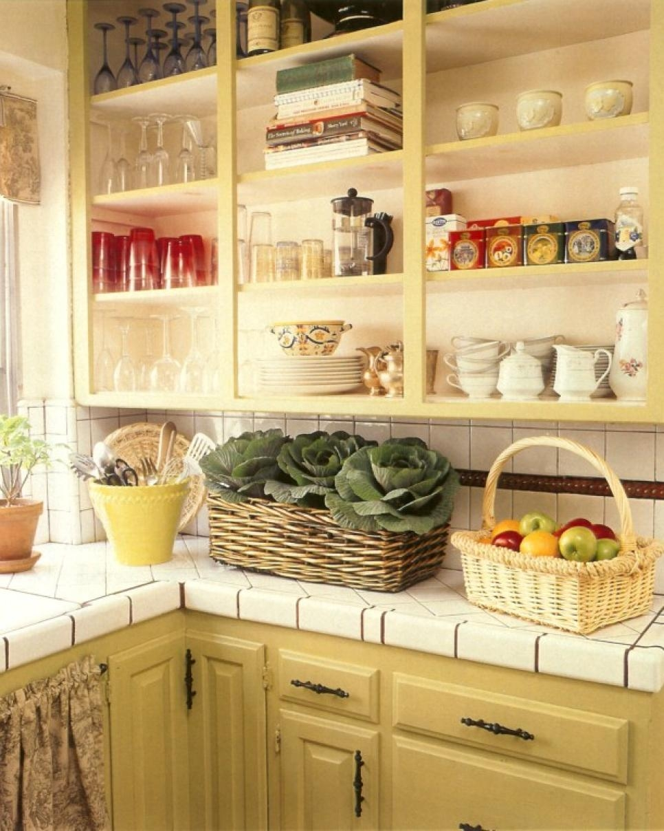 8 Stylish Kitchen Storage Ideas Hgtv Intended For Storage Racks For Kitchen Cupboards (View 15 of 25)