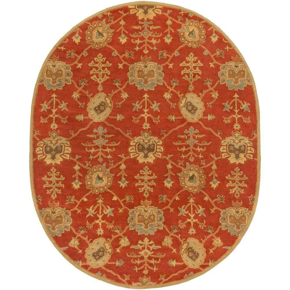 8 X 10 Oval Area Rugs Rugs The Home Depot Pertaining To Oval Rugs (Photo 15 of 15)