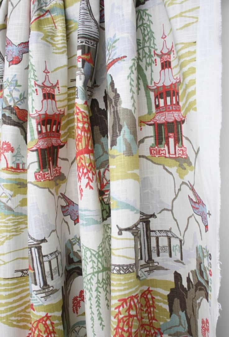 83 Best Curtains Images On Pinterest Inside Asian Curtains Drapes (Photo 17 of 25)