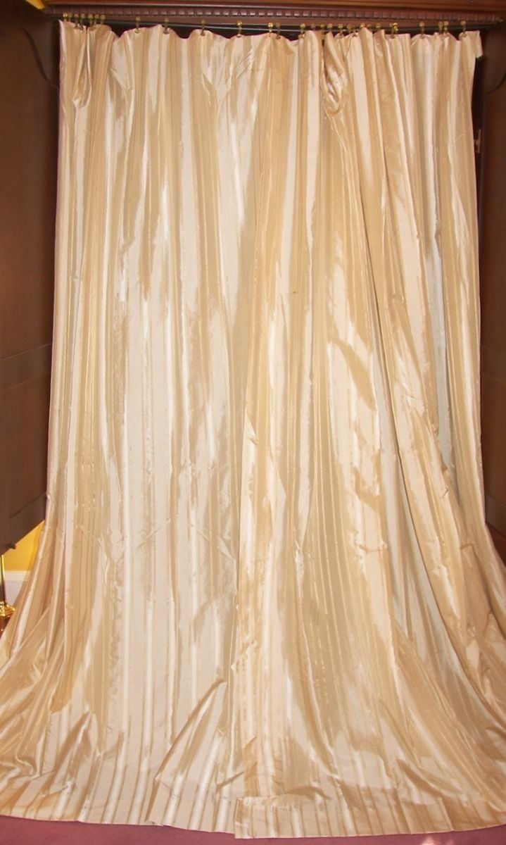 88 Best Vintage Curtains Drapes Images On Pinterest With Regard To Peach Colored Curtains (Photo 23 of 25)
