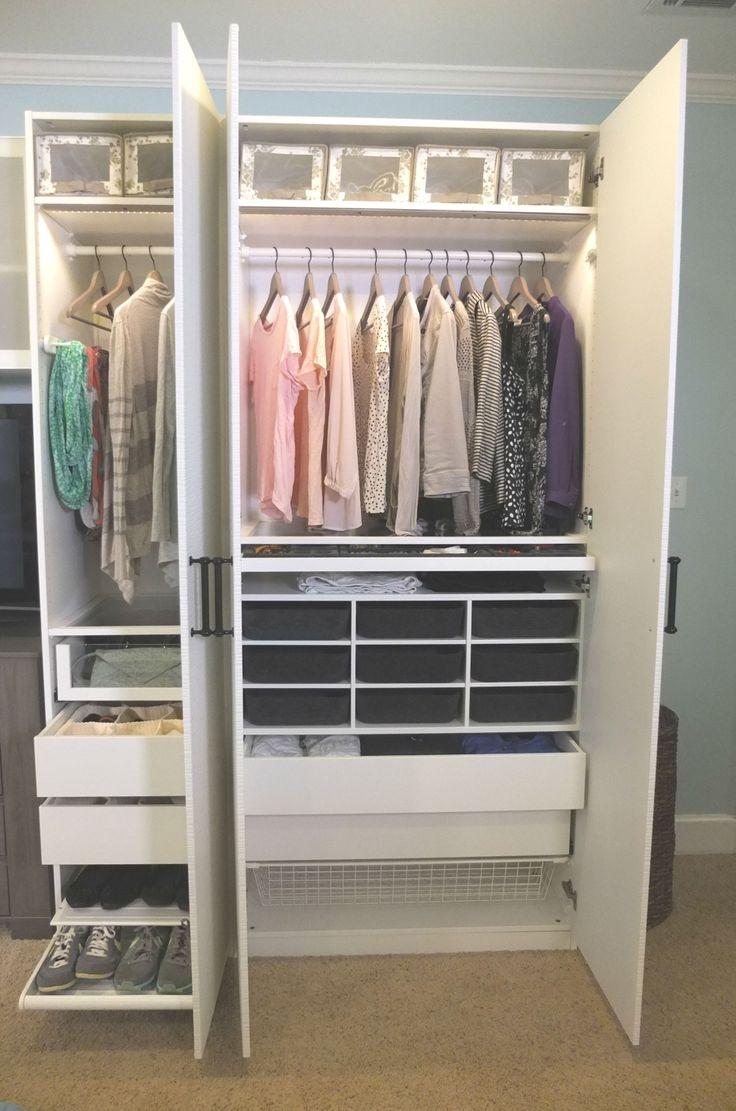90 Best Ikea Closets Images On Pinterest Dresser Home And Cabinets Regarding Bedroom Wardrobe Storages (Photo 25 of 25)