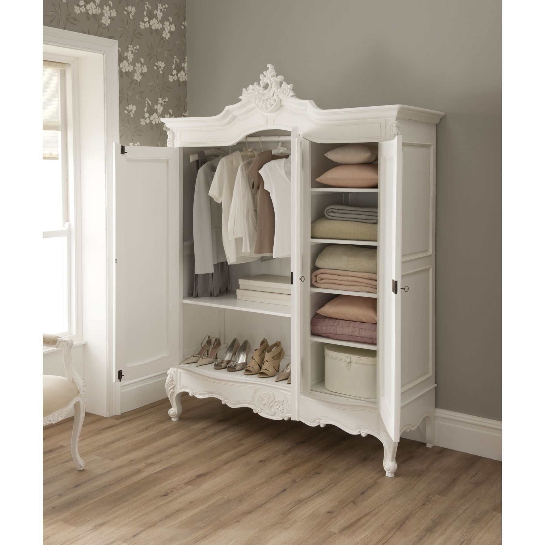 A Wardrobe Is The Perfect Addition To A Bas Room To Stylishly With Wardrobe For Baby Clothes (Image 2 of 25)