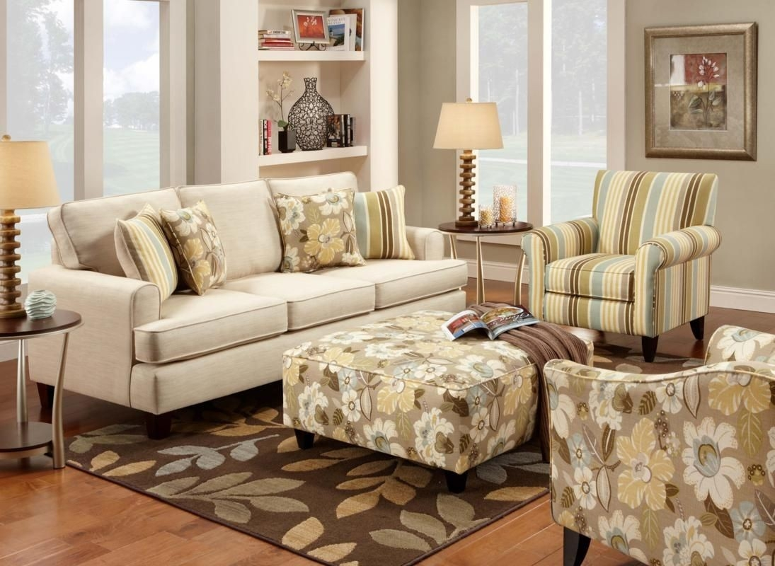 Accent Chair Sets Thehomelystuff Pertaining To Sofa And Accent Chair Set (Image 1 of 15)