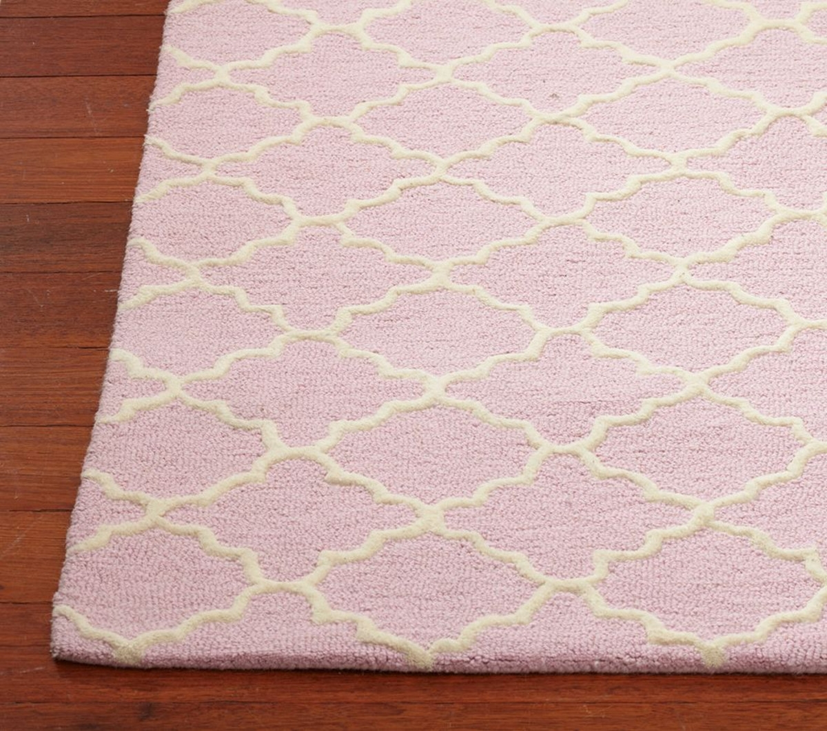 Addison Rug Light Pink Pottery Barn Nursery Pinterest Barn Throughout Pink Pattern Rugs (Image 4 of 15)