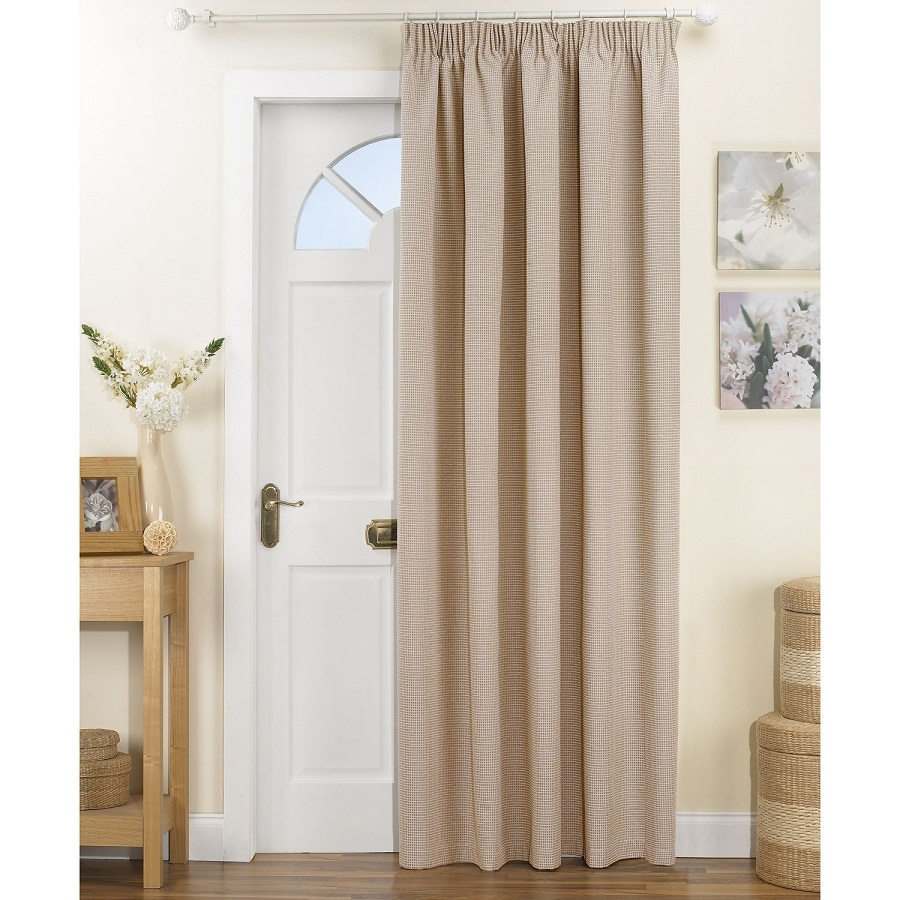 Affordable Front Door Curtains Design Ideas Decor Throughout Doorway Curtains (Image 1 of 25)